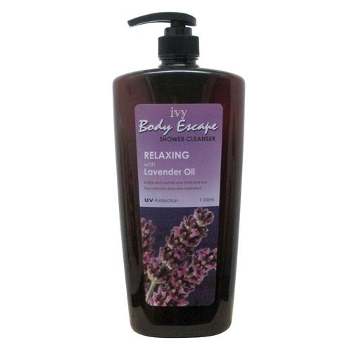Ivy Body Escape Shower Cleanser Relaxing - Lavender Oil (1100ml)