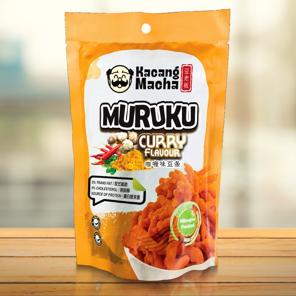 MURUKU (CURRY FLAVOUR) - 60g (Pack of 9)