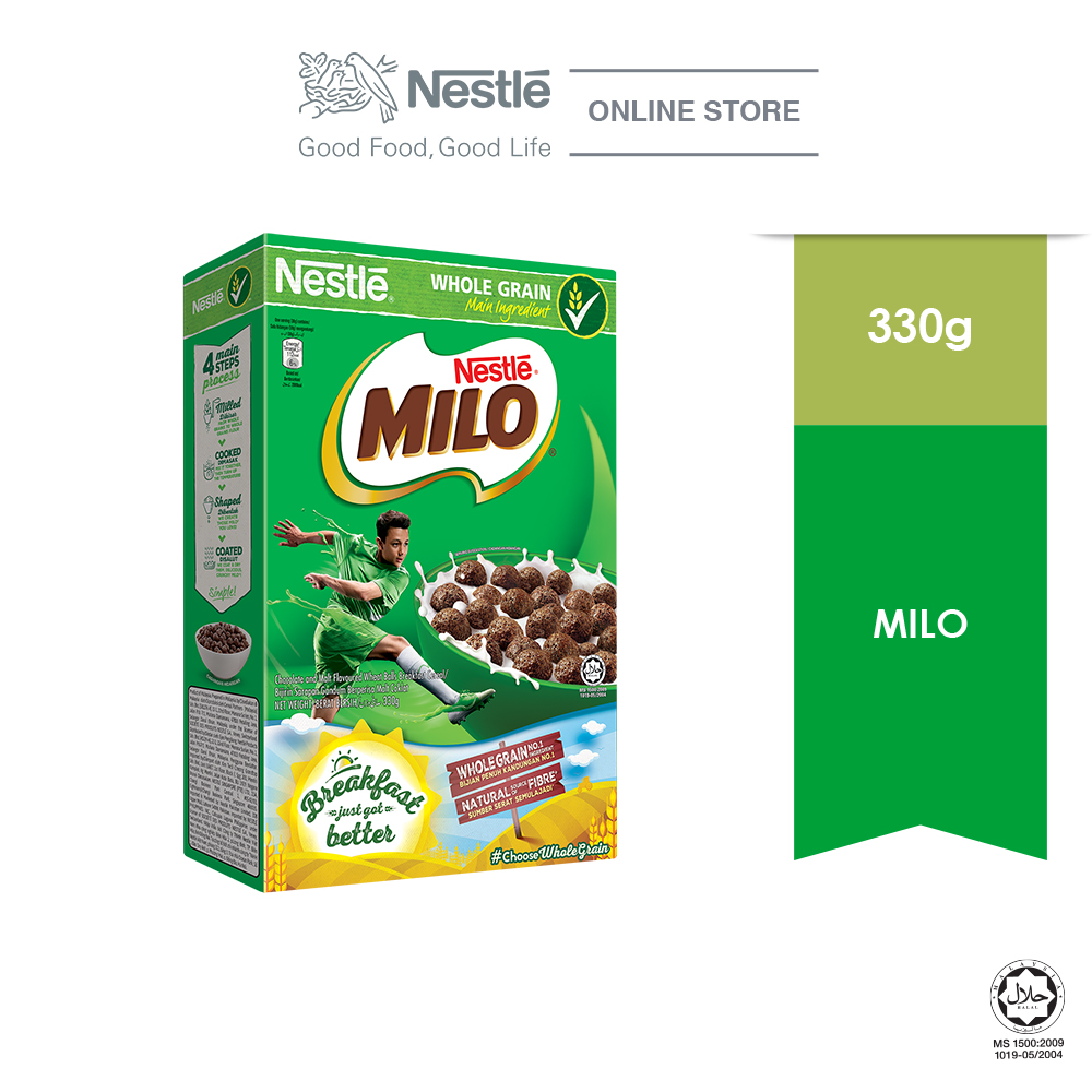 NESTLE  MILO Breakfast Cereal  Large 330g