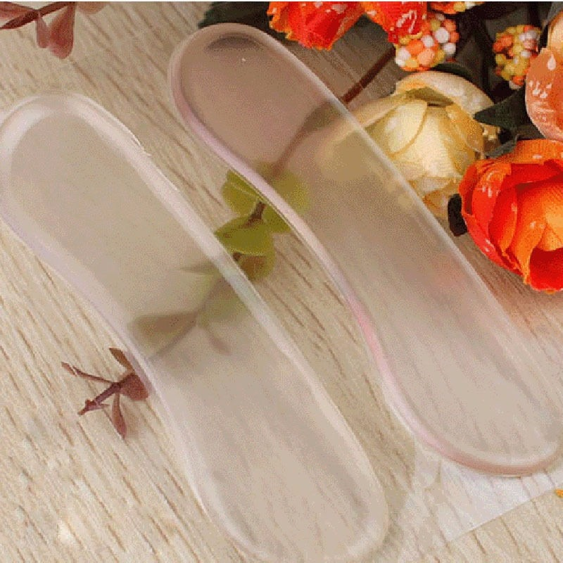 Silicone Heel Protector Foot pain Shoe Pads Cushion Liner Grips Heel Insoles