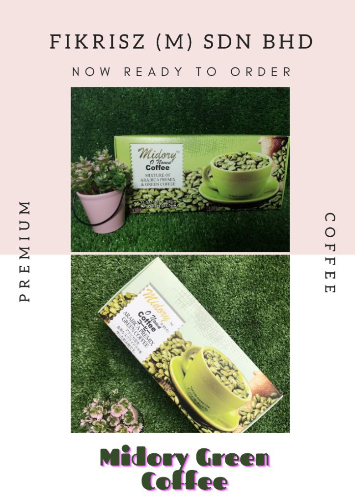 MIDORY GREEN COFFEE