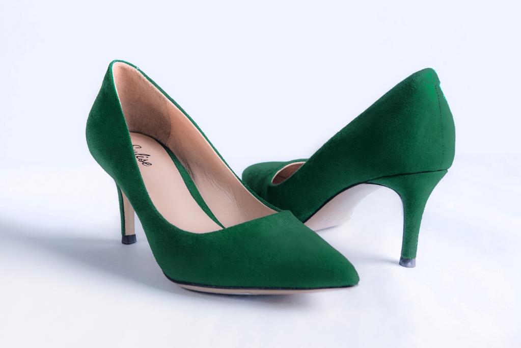 Sulise Heels Peacock Green