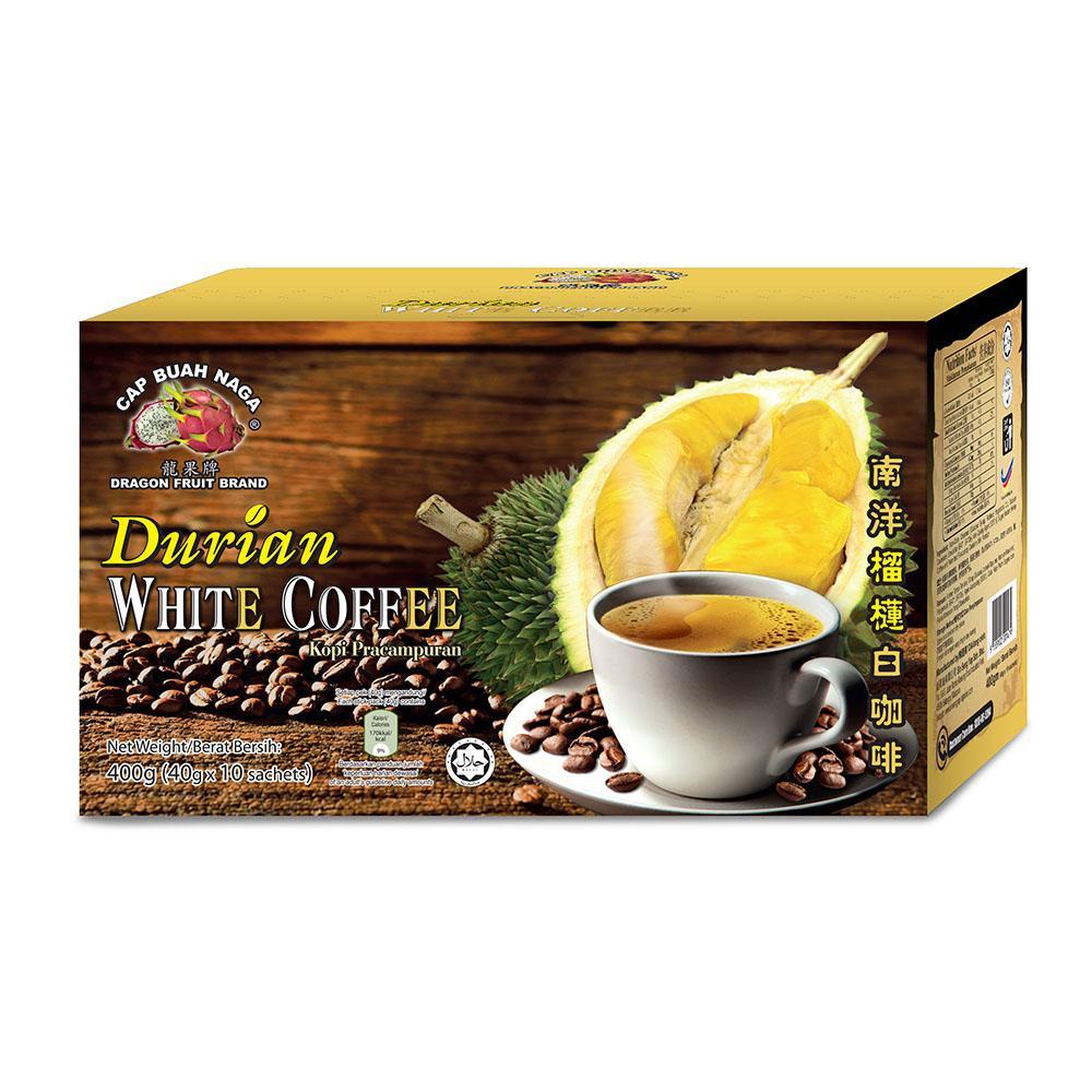 Dragon Fruit Brand - Durian White Coffee 40g x 10 sachets