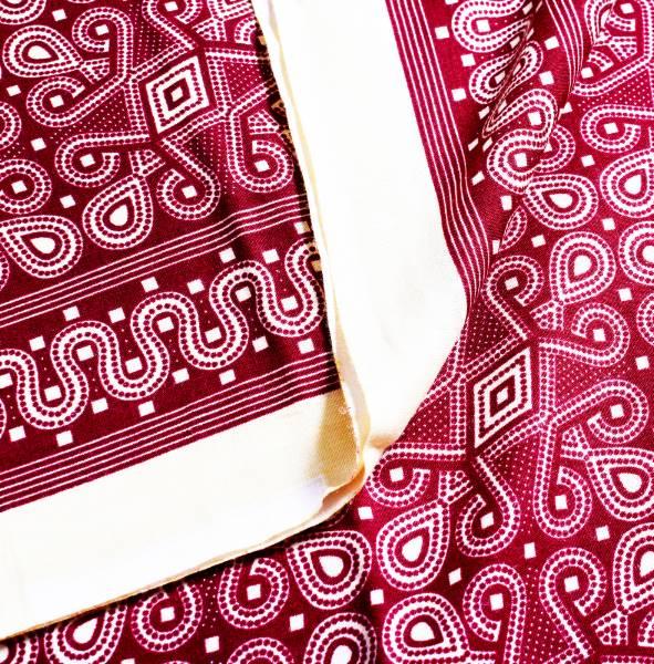 Traditional Kain Batik Borneo Sarawak (Maroon)