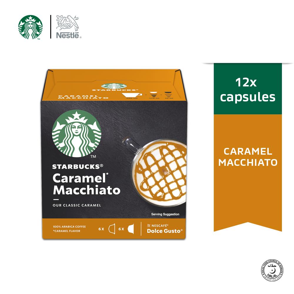 STARBUCKS Caramel Macchiato 12 Cap 128g