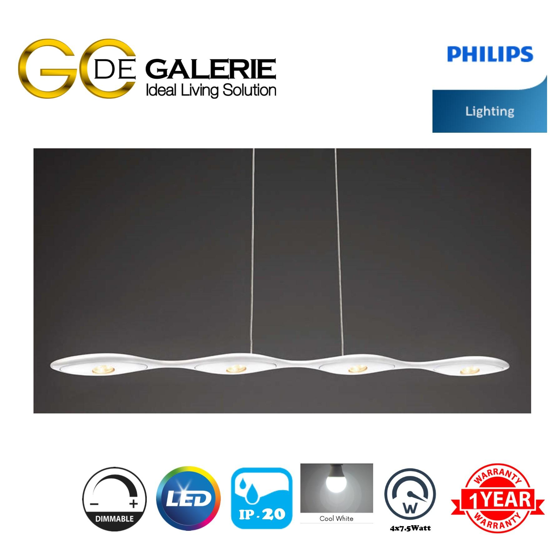 PENDANT LIGHT PHILIPS 69092/31 40K WH DIMMABLE
