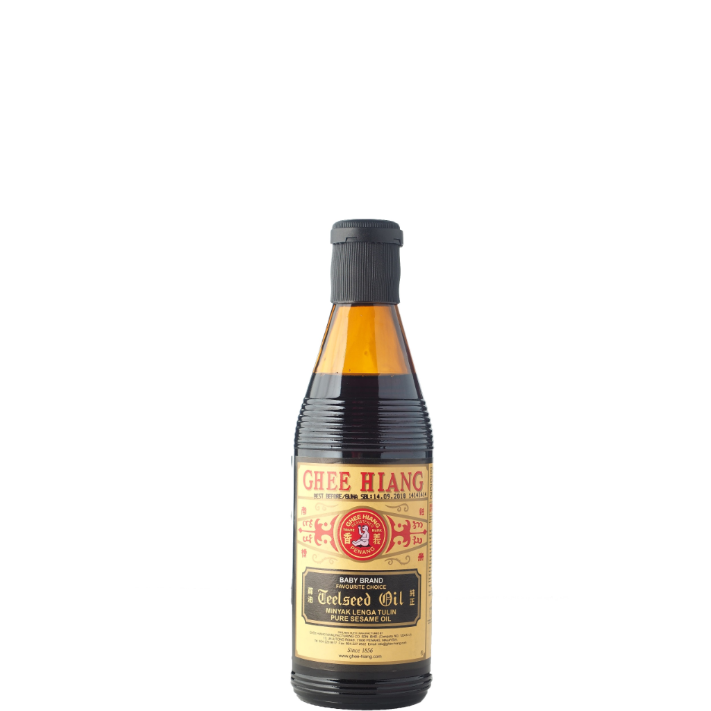 Ghee Hiang Pure Sesame Oil (Black Label) 300ml
