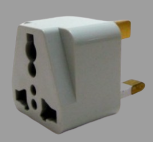 3PIN UNIVERSAL MULTI TRAVEL PLUG CONVERTER ADAPTOR