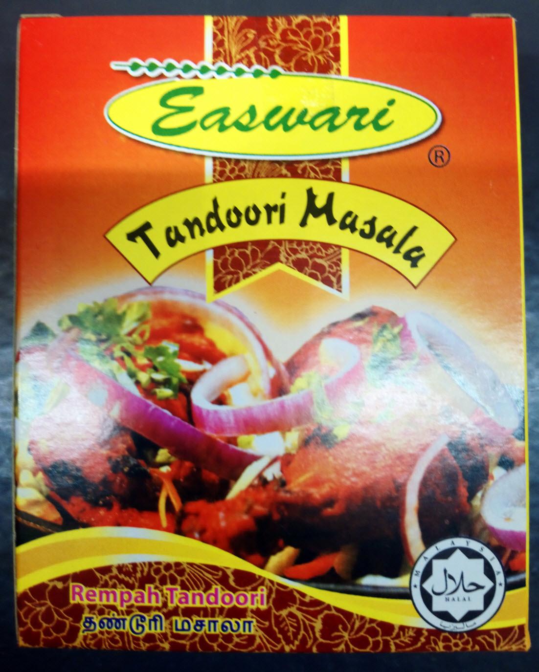 Easwari Tandoori Masala Rempah Spice 50g