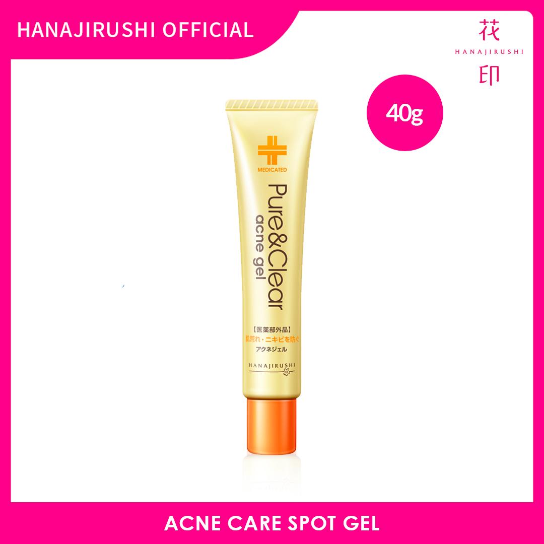 Hanajirushi Acne Care Acne Spot Gel - Pure & Clear Acne Gel 40g