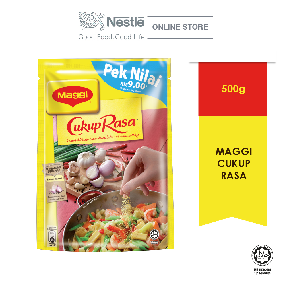 MAGGI Cukup Rasa All In One Seasoning 500g