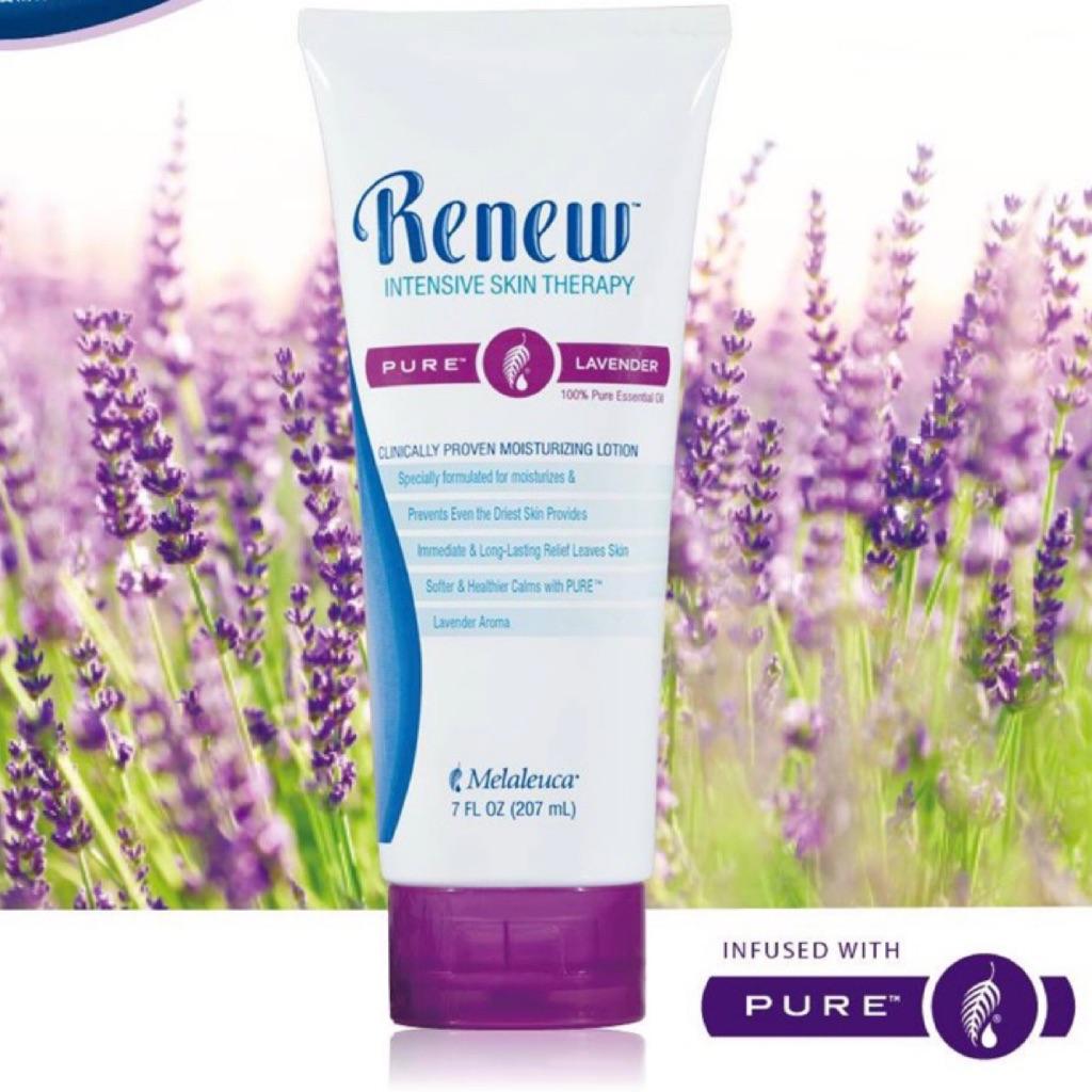 Melaleuca - Moisturizing Lotion Renew ® with PURE ™ Lavender 207ml