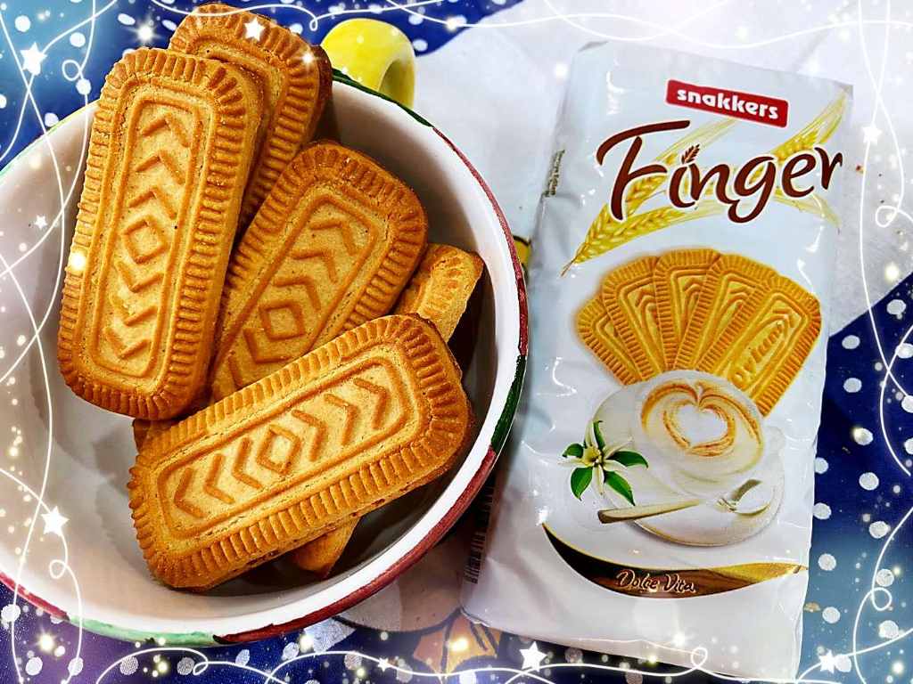 Oylum Finger biscuit with vanillin 115g (24 packs)