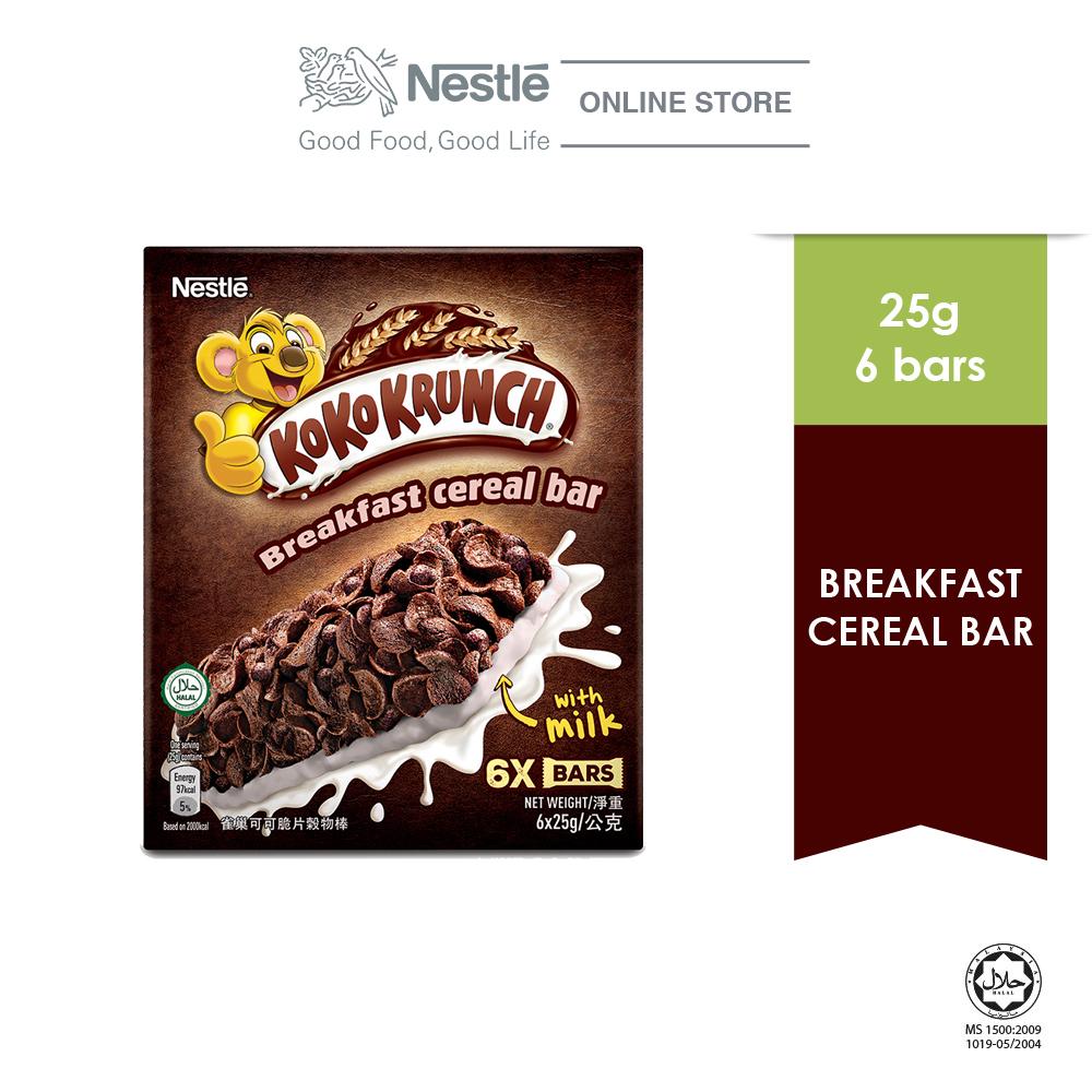 NESTLE KOKO KRUNCH Cereal Bar  6 sticks, 25g