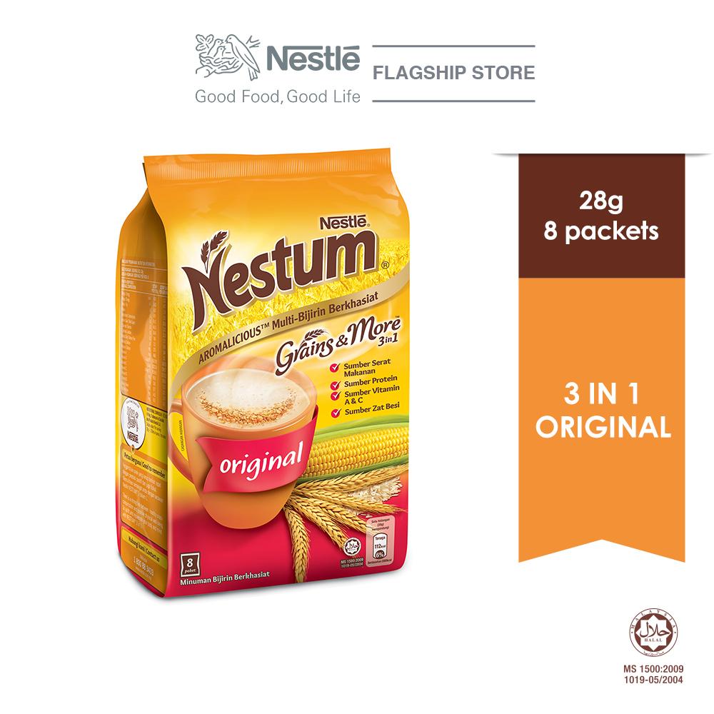NESTLE NESTUM Grains & More 3in1 Original (8 Packets 28g)