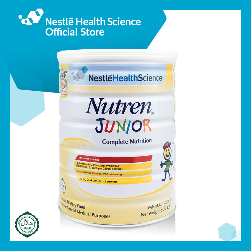 NUTREN JUNIOR Powder Vanilla 800g