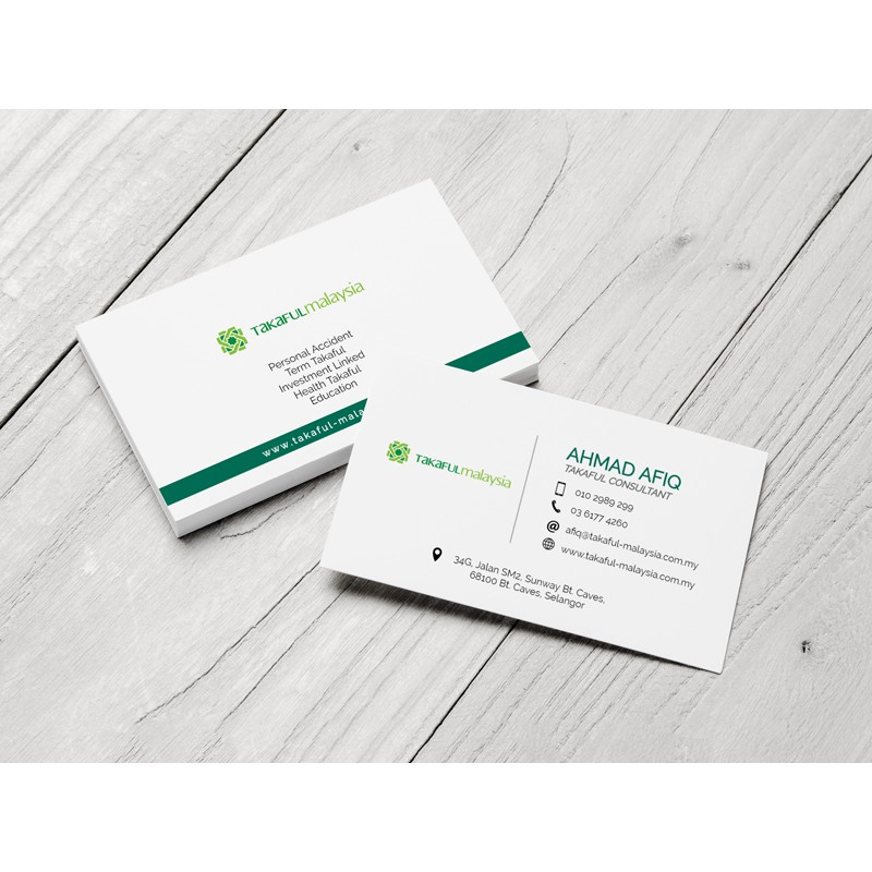 Business Card / Name Card / Kad Nama Design & Printing (2 Boxes)