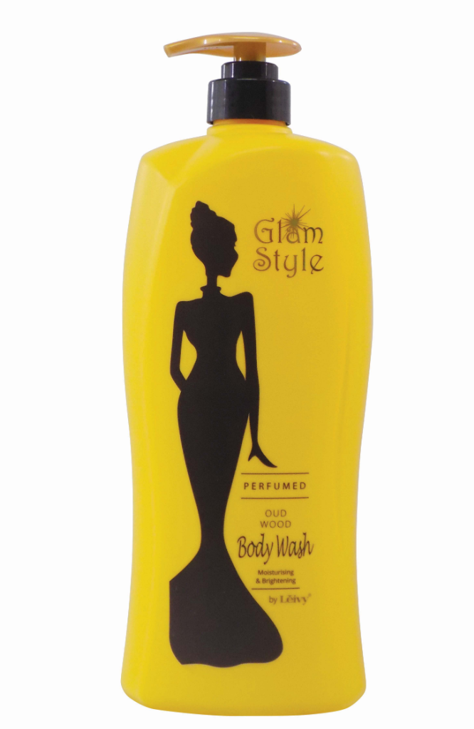 Glam Style Perfumed Body Wash OUD WOOD  (1000ml)