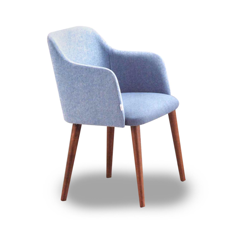 Dining Chair 03-218A (Light Blue)