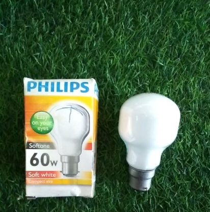 Philips soft white 60w compact size
