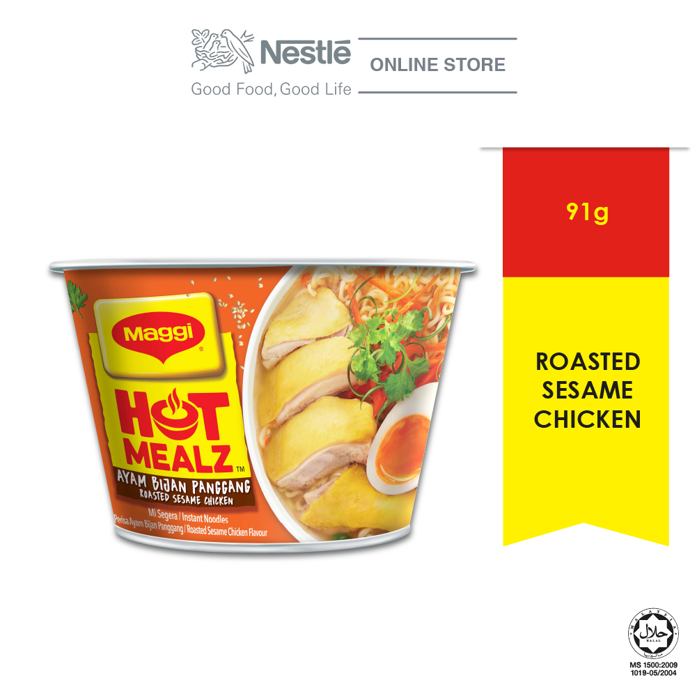 MAGGI Hot Mealz Roasted Sesame Chicken 1 Bowl 91g Each