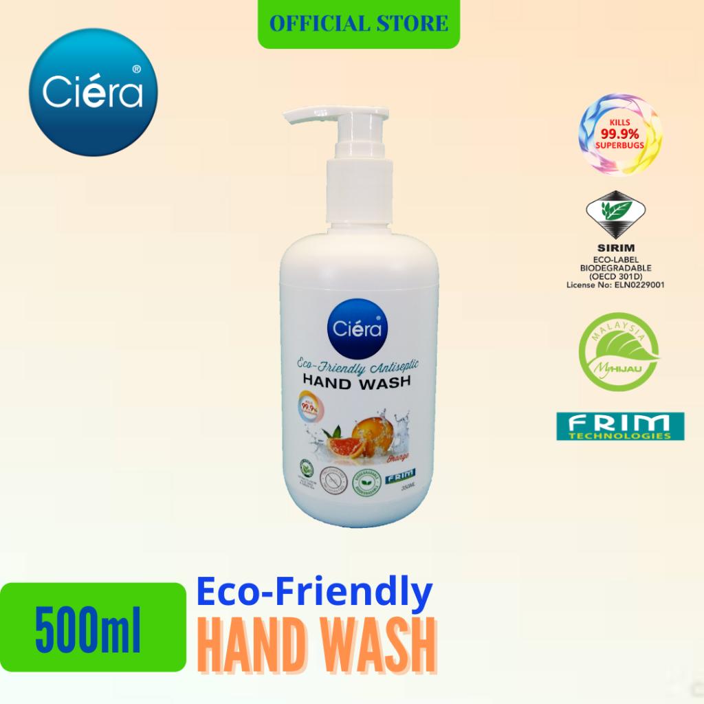 Bundle Deal - Ciéra Eco Friendly Hand Wash - 500 ml Orange