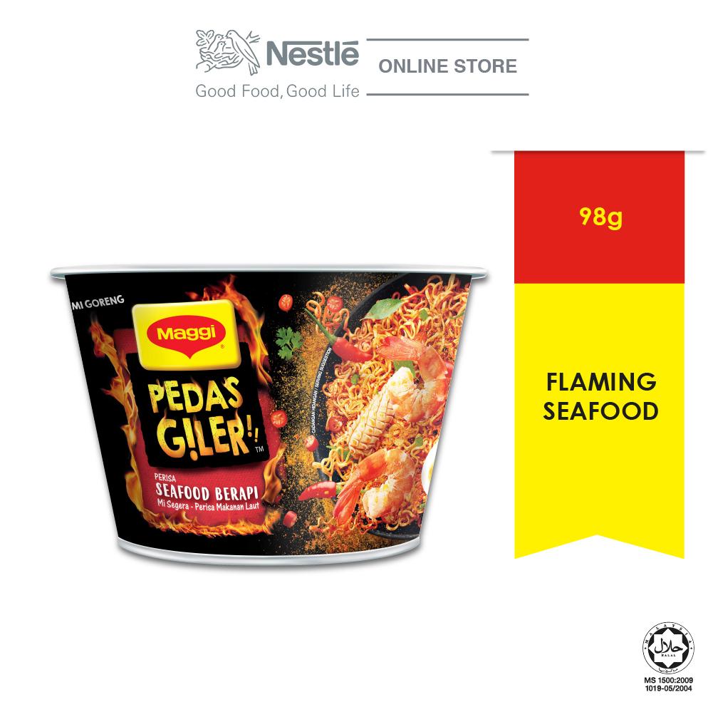 MAGGI Pedas Giler Perisa Seafood Berapi 98g ExpDate: NOV20