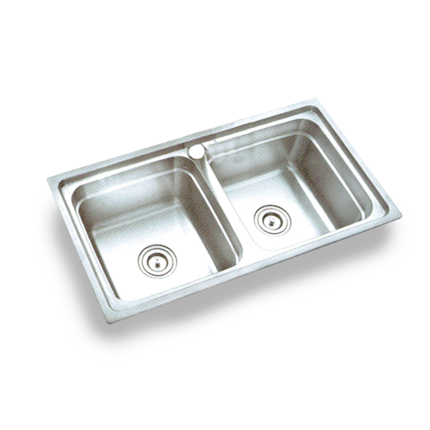 Double Basin Stainless Steel MB8144