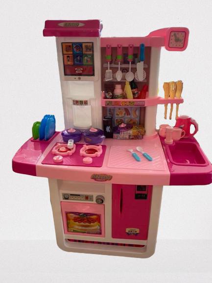 Childrens Kitchen Toy Set Simulation Kitchenware Cooking