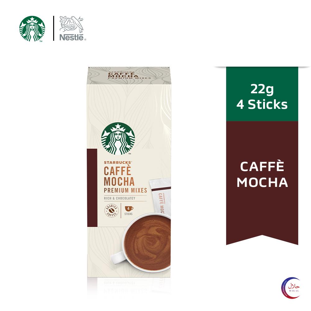 STARBUCKS Mocha Premium Instant (4x22g)