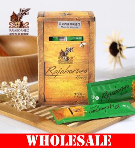 【WHOLESALE】 RAJABORNEO HONEY - ACACIA MANGIUM  HONEY (GIFT BOX ~ 15g x 60 sachet)【批发】 婆罗皇原始蜂蜜 (精美礼盒装)  (5/10 cartons)