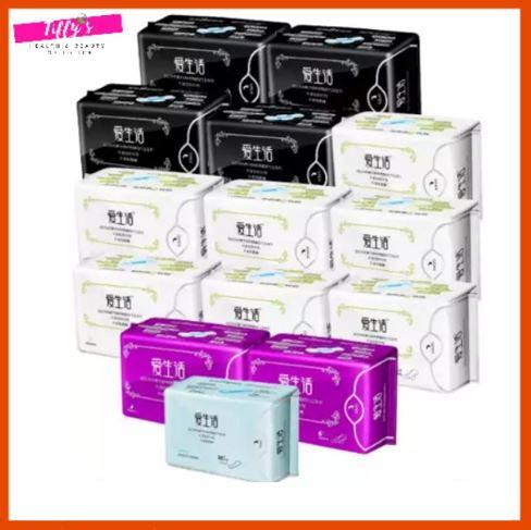 iLife Anion Sanitary Pad Panty Liner 爱生活卫生巾护垫远红外负离子磁动力套组系列
