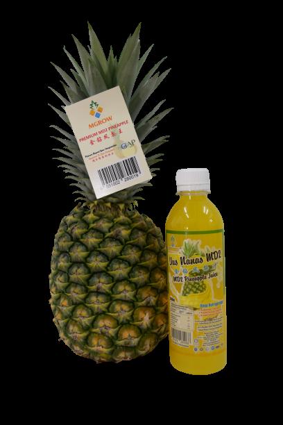 Fresh MD2 Pineapple Juice