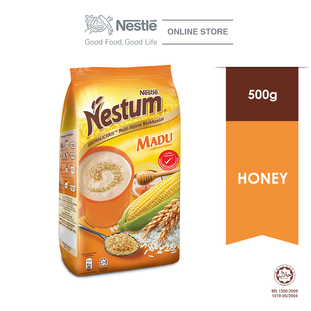 NESTLE NESTUM All Family Cereal Honey Softpack 500g