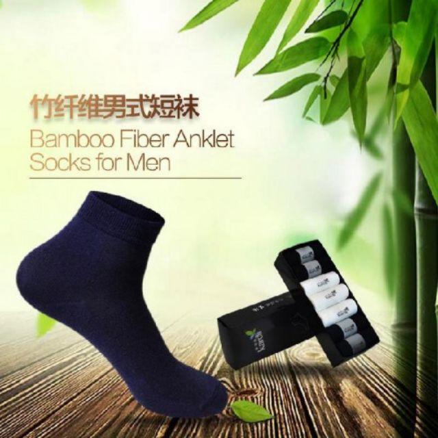 iLife Bamboo Fiber Mens Socks 7pairs 爱生活竹纤维男式短袜(7对)