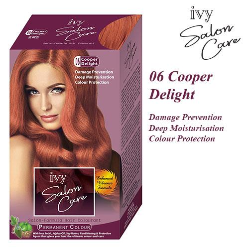 Ivy Salon Care Hair Dye Color Delight 06