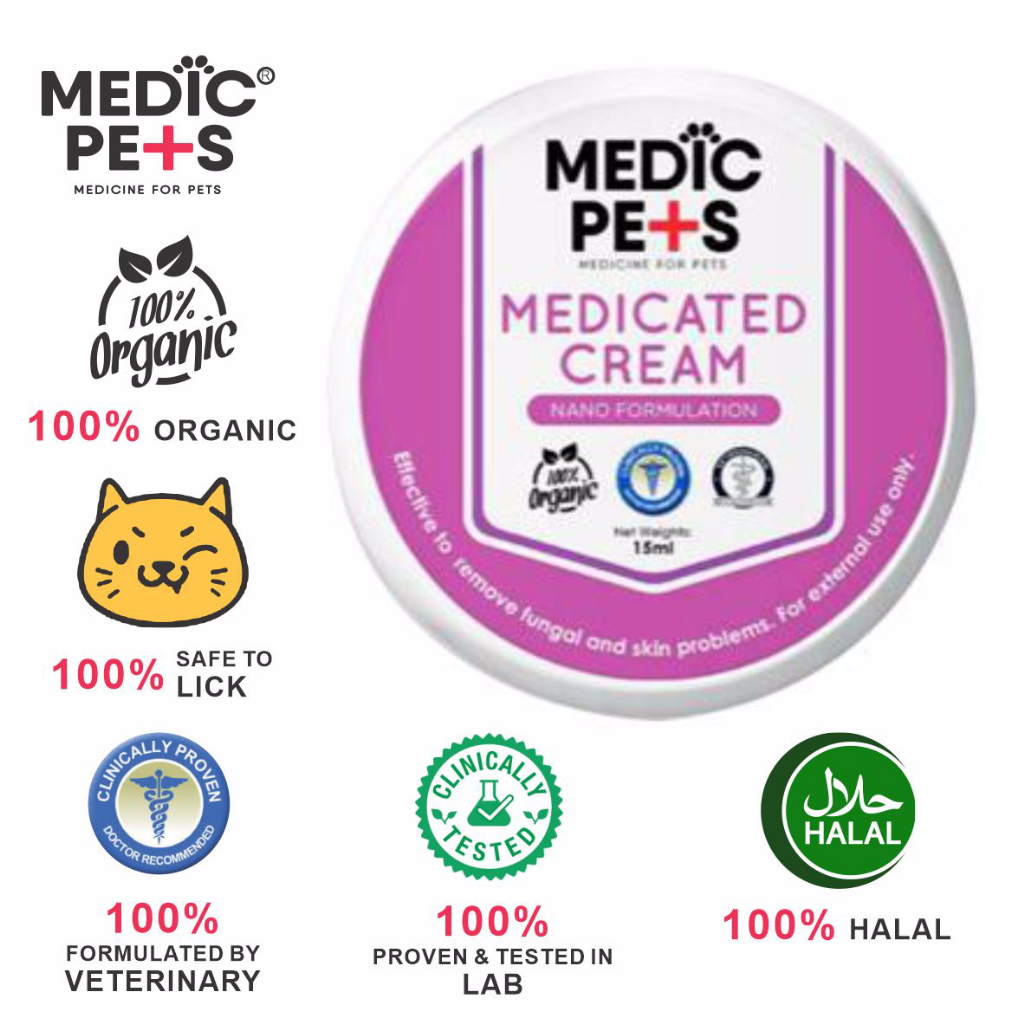 MEDICATED CREAM FOR PETS WOUND