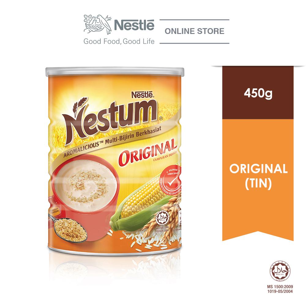 NESTLE NESTUM All Family Cereal Original Tin 450g