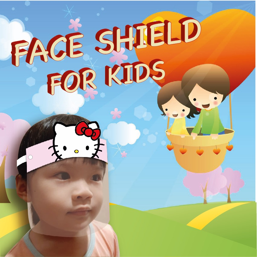 NEW DESIGN FACE SHIELD FOR KIDS [READY STOCK]