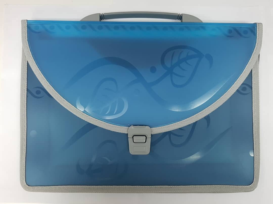 EXCLUSIVE DOCUMENT BAG - BLUE RT4151