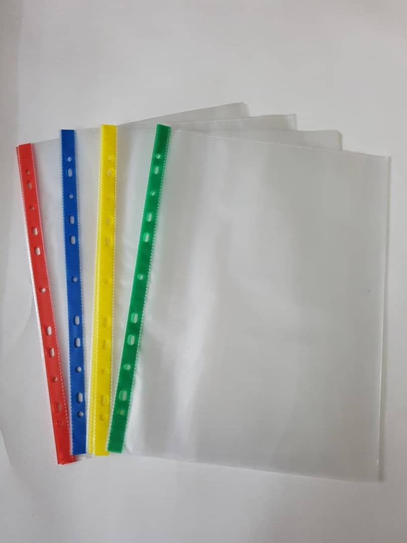 Colour Sheet Protector A4 10Sheet/Pack