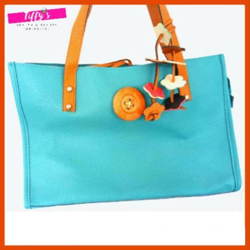 Ladies Elegant Handbag Casual Style Tiffany Blue Woman Bag