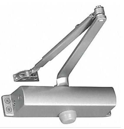 Door closer 2speed adjustment (Dual valve)