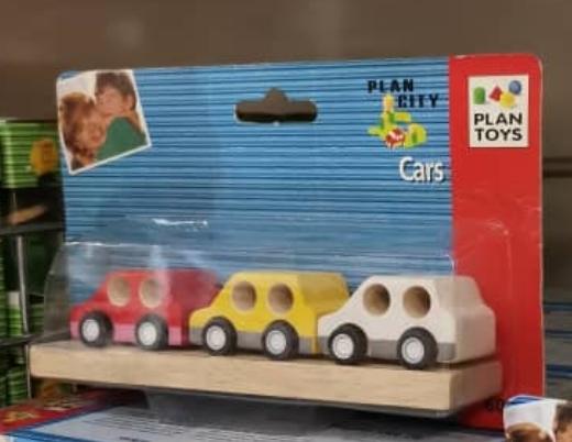 Plan Toys - Vehicle Set