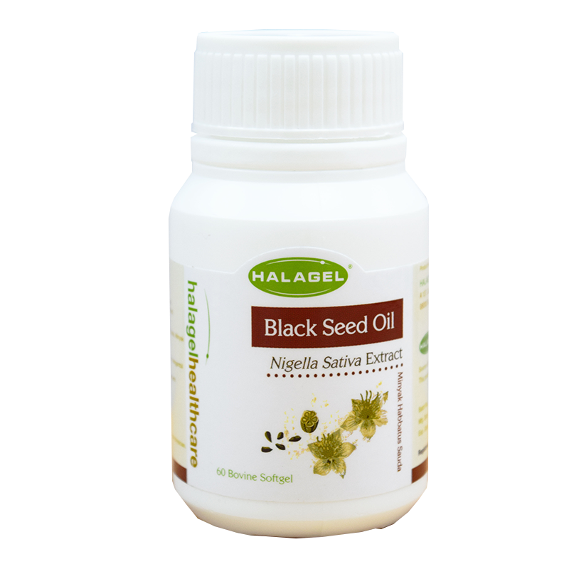 Black Seed Oil 500mg in 60 softgel