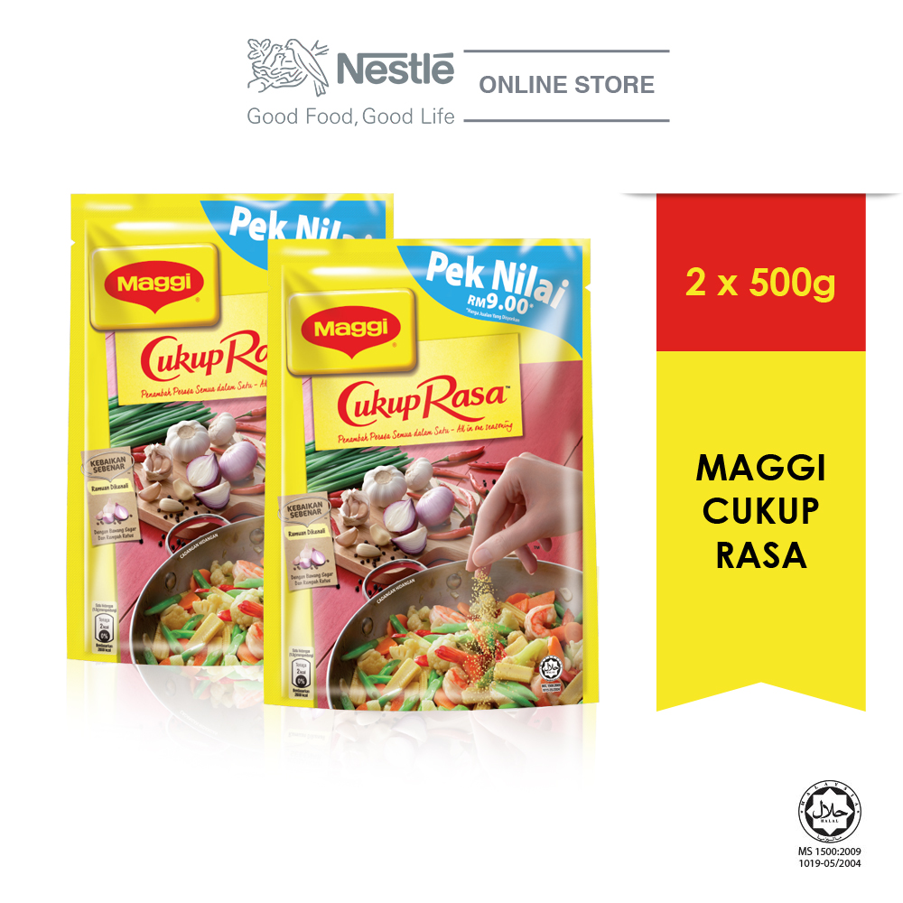 MAGGI Cukup Rasa All In One Seasoning 500g x2 packs