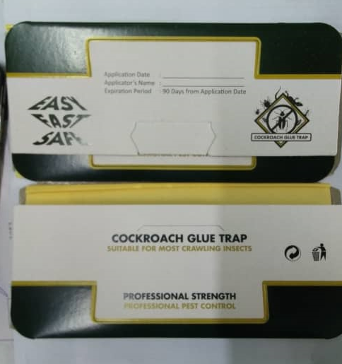 Cockroach Glue Trap (19.5cm x 9.2 cm x 2.5cm)