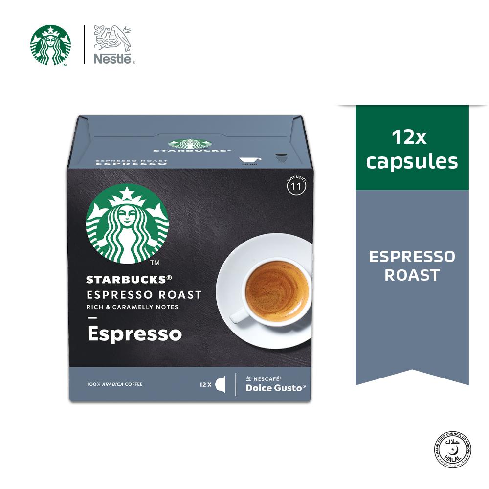 STARBUCKS Espresso Roast 12 Cap 66g
