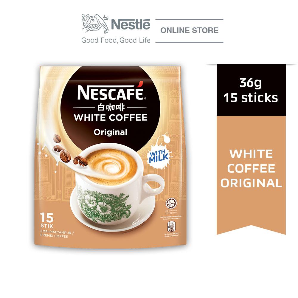 NESCAFE White Coffee Original 15 Stick 36g