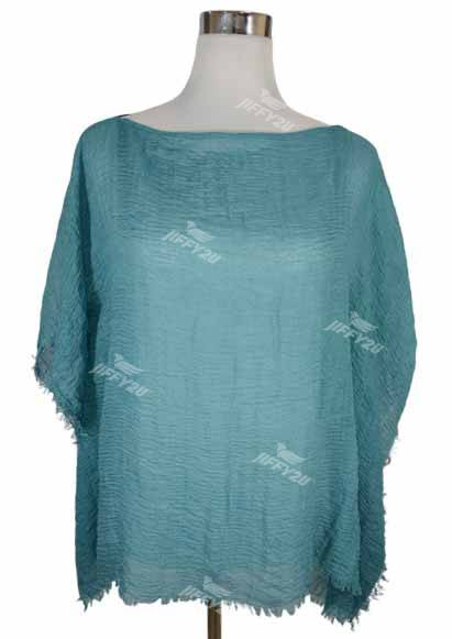 Ladies Plain Coloured Cheese Cloth Kaftan